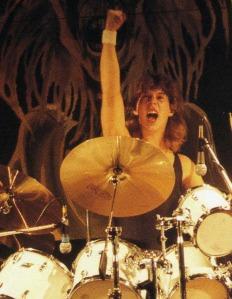 Clive Burr drums 2