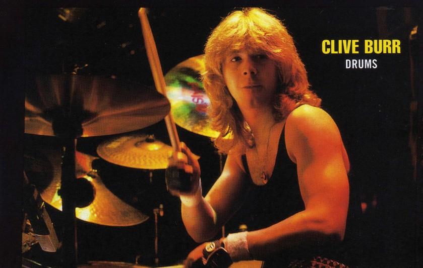 Clive Burr drums 3