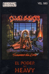 Obsession-Scarred for life cassette