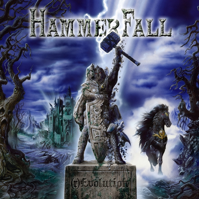Hammerfall - (r)Evolution - Artwork